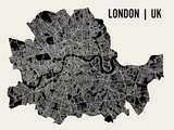 London Poster af Mr City Printing
