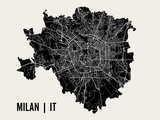 Milan Posters by  Mr City Printing