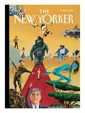 The New Yorker Cover - March 8, 2010 Regular Giclee Print by Mark Ulriksen