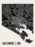 Baltimore Posters par  Mr City Printing