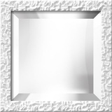 LAVO White Mirror Decorative Mirror
