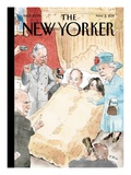 Entourage - The New Yorker Cover, May 2, 2011 Regular Giclee Print by Barry Blitt