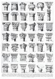 Architettura (Architecture) - Column Style Diagram Poster Poster