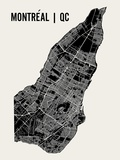 Montreal Poster von  Mr City Printing