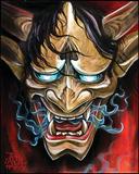 Oni Prints by James Danger Harvey