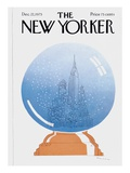 The New Yorker Cover - December 22, 1975 Regular Giclee Print by R.O. Blechman