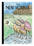 Big Bug City - The New Yorker Cover, July 12, 2010 Regular Giclee Print by Edward Koren