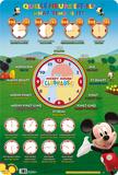 Quelle heure est-il  - La Maison de Mickey Uutuus