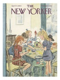 The New Yorker Cover - April 17, 1954 Giclee Print by Perry Barlow
