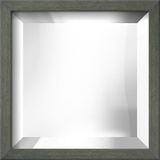 CHELSEA Gray Mirror Wall Mirror