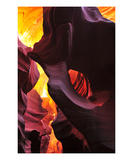 Eye Of The Antelope Canyon Premium Giclee Print by Matt Blaisdell