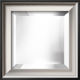 RAMINO II Silver Mirror Wall Mirror