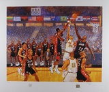 1996 Dream Team Reproduction pour collectionneurs par Bart Forbes