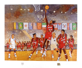 Women's Dream Team Collectable Print by Bart Forbes