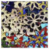Bejeweled Woodblock I Prints by Ricki Mountain