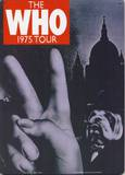 The Who 1975 Tour Tin Sign