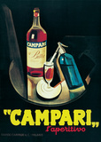 Campari - Vintage Style Advertisement Poster Pósters