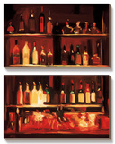 Patty's Bar Poster by Pam Ingalls