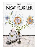 The New Yorker Cover - November 20, 1978 Premium Giclee Print by Ronald Searle