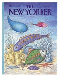 The New Yorker Cover - March 23, 1992 Regular Giclee Print by John O'brien