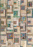Codici Miniati (Illuminated Manuscript) Antique Style Collage Poster Prints