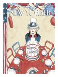 The New Yorker Cover - July 4, 2005 Regular Giclee Print by Barry Blitt