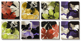 Bloomer Tiles Print by James Burghardt