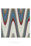 Radio Waves I Kunstdrucke von Ricki Mountain