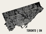 Toronto Poster by  Mr City Printing