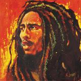 Bob Marley Plakat autor Stephen Fishwick