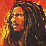 Bob Marley Poster by Stephen Fishwick