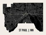 St Paul Prints by  Mr City Printing