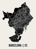 Mr City Printing - Barcelona Obrazy