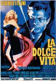 La Dolce Vita - Vintage Style Italian Poster Plakat