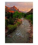 The Watchman Premium Giclee Print by Matt Blaisdell