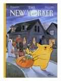The New Yorker Cover - November 1, 1999 Regular Giclee Print by Harry Bliss