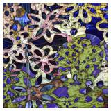 Bejeweled Woodblock III Prints by Ricki Mountain