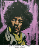 Hendrix Purple Haze Prints by David Garibaldi
