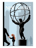 The New Yorker Cover - December 20, 2010 Regular Giclee Print by Christoph Niemann