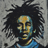 Bob Marley Redemption Posters by David Garibaldi