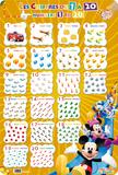 Les Chiffres de 1 a 20 - La Maison de Mickey Erikoistuotteet