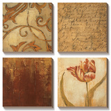 Tulip Manuscript II Prints by Liz Jardine