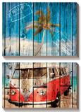 La Playa Posters by Bresso Sola