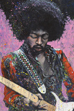 Jimi Poster by Stephen Fishwick