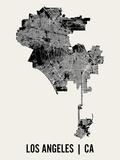 Los Angeles Kunstdruck von  Mr City Printing