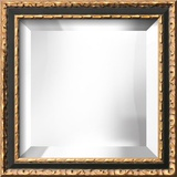 ALEXANDRA Black Mirror Decorative Mirror