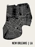 La Nouvelle-Orléans Poster par  Mr City Printing