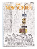 The New Yorker Cover - September 16, 1974 Giclee Print by Edward Koren