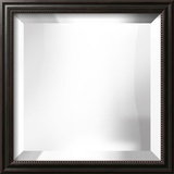 GEORGETOWN Black Thin Mirror Wall Mirror