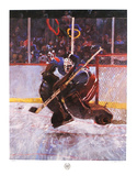 Hockey Collectable Print by Robert Heindel
